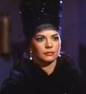 Natalie Wood in Gypsy trailer